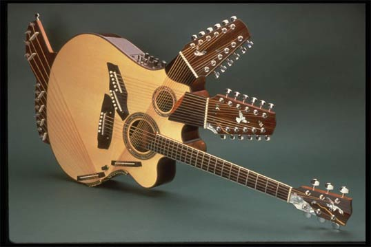 pikasso guitar multi-neck acoustic