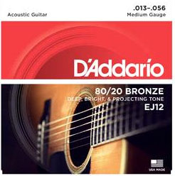 daddario guitar strings medium gague