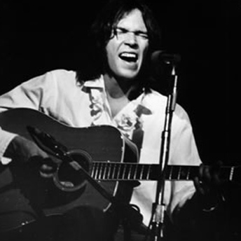 Neil Young -  Dreadnought Steel String Acoustic Guitar